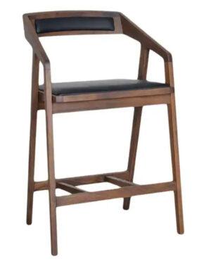 Overstock Aurelle Home Pio Modern Solid Wood Counter Stool – Oak