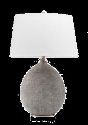 Lulu and Georgia ARIANA TABLE LAMP, GRAY