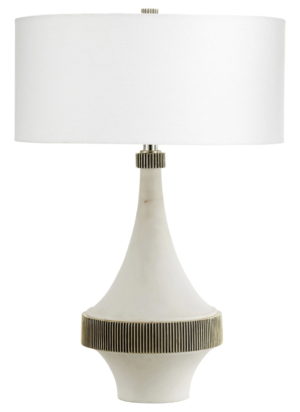 Paynes Gray Cyan Design Saratoga Table Lamp