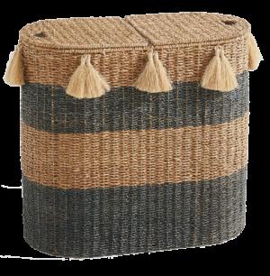 Anthropologie Seagrass Hamper Basket