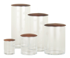 Foor 52 Hawkins New York Glass Simple Storage Containers