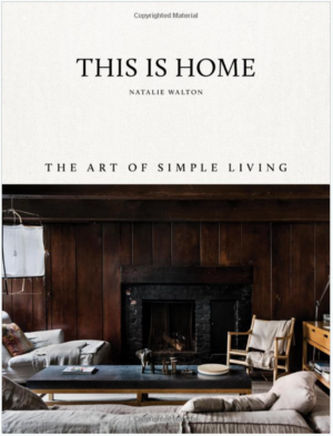 Amazon This is Home: The Art of Simple Living Hardcover Book