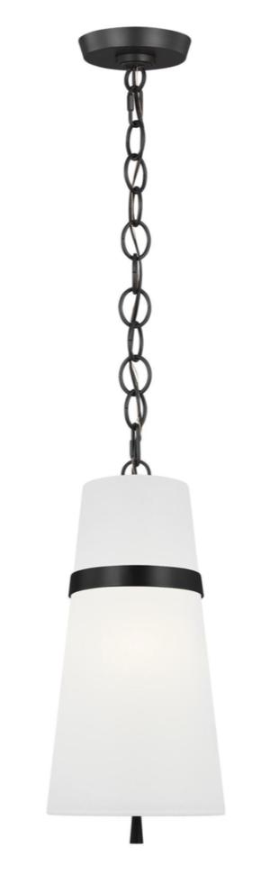 Build.com Generation Lighting Cordtlandt 8″ Wide Mini Pendant Model:AP1161AI