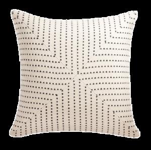 20″ Clique Black Pillow | CB2