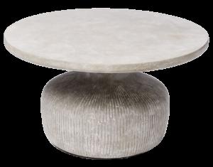 West Elm Tambor Concrete Coffee Table, Raw Concrete