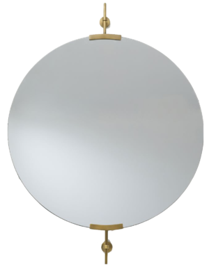 Pottery Barn Wexler 36″ Round Wall Mirror