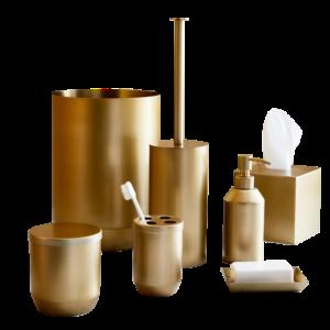 West Elm Caspian Metal Bath Accessories