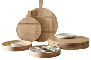 Pottery Barn Ash Wood Serveware Collection